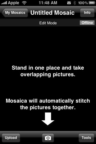 Review:  Mosiaca for iPhone