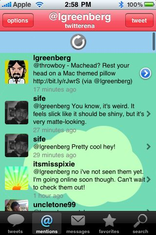 Twitterena+ Pro for iPhone OS Review  Twitterena+ Pro for iPhone OS Review  Twitterena+ Pro for iPhone OS Review