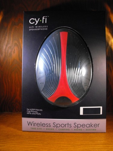 Review: Cy-Fi Wireless Sports Speaker Bluetooth