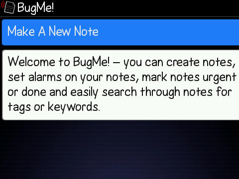Now what was it I had to do?  Review: BugMe! for BlackBerry Phones  Now what was it I had to do?  Review: BugMe! for BlackBerry Phones