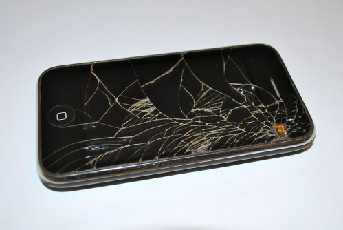 GearDiary_cracked iPhone Case