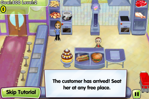 Review: Cooking Dash for iPhone and iPod Touch  Review: Cooking Dash for iPhone and iPod Touch  Review: Cooking Dash for iPhone and iPod Touch