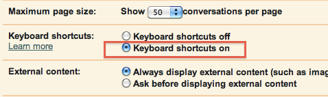 How to enable, discover, and use Gmail keyboard shortcuts