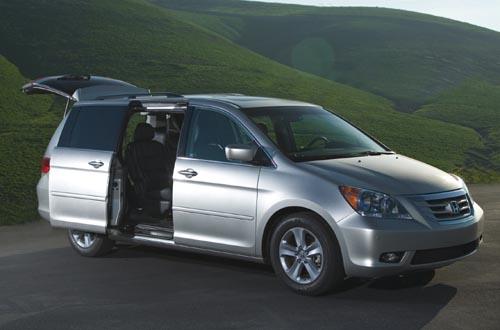 GearDiary 2010 Honda Odyssey minivan