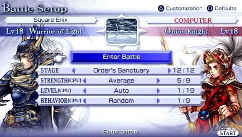 Review: Dissidia Final Fantasy for PSP