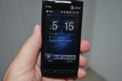Impressions on Windows Mobile 6.5 and the AT&T Pure Windows Phone