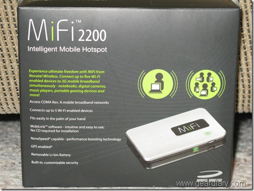 Review: Novatel Mifi 2200 Intelligent Mobile Hotspot