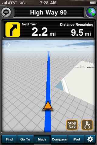 Review: MotionX GPS Drive