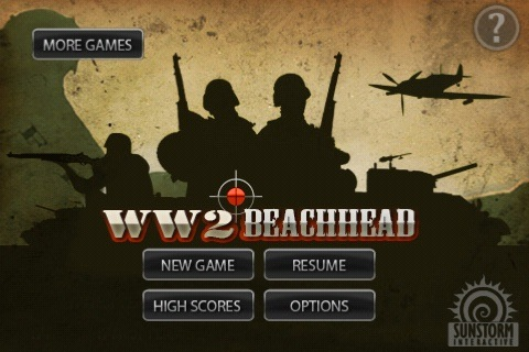 Review:  WW2 Beachhead for iPhone OS  Review:  WW2 Beachhead for iPhone OS