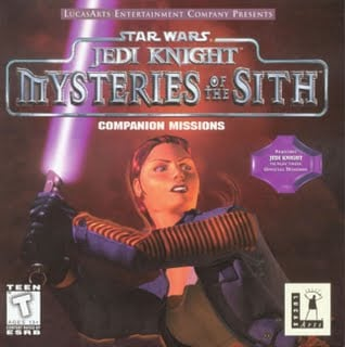 GearDiary The Netbook Gamer: Star Wars: Mysteries of the Sith (1998, FPS)