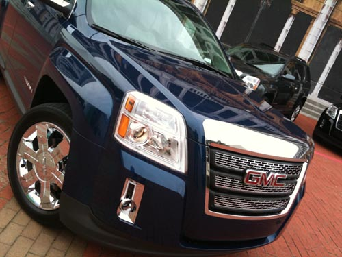 2010 GMC Terrain changing landscape of crossovers  2010 GMC Terrain changing landscape of crossovers