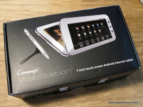 First Full Day with the Camangi WebStation