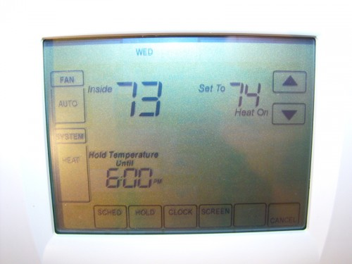Review: Trane XL800 Programmable Thermostat & a Giveaway