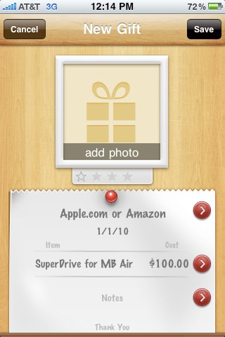 Gift Box for iPhone and iPod Touch Review