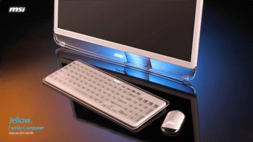 MSI Demos 3 Concept PC's at CES