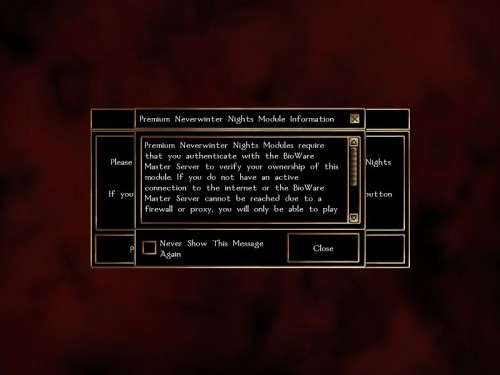 Neverwinter Nights Premium Modules PC Game Module Reviews:  Neverwinter Nights Premium Modules PC Game Module Reviews: