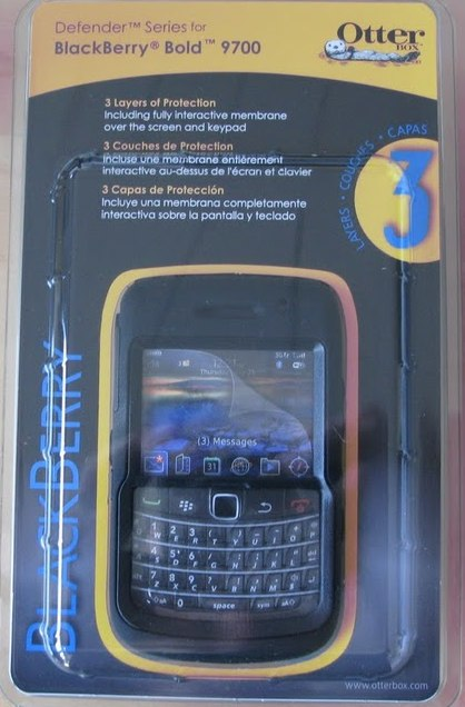 Otterbox BlackBerry Bold 9700 Defender Case - Review  Otterbox BlackBerry Bold 9700 Defender Case - Review