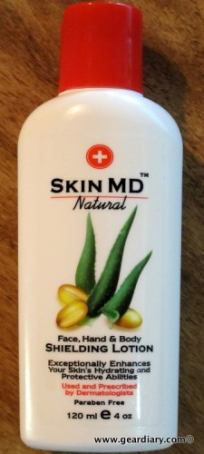 Skin MD Natural Shielding Lotion, a GearChat Review