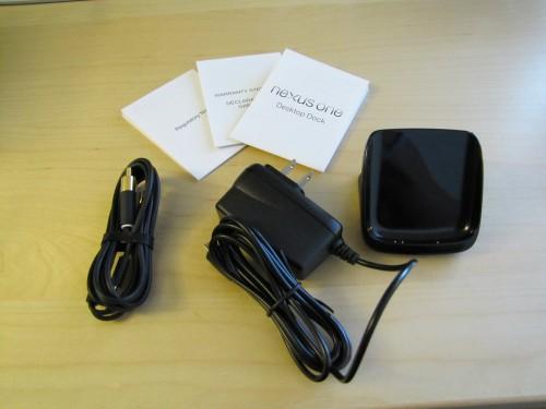 Nexus One Desktop Dock Mini-Review