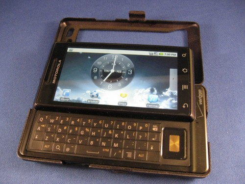 PDAir's Aluminum Case Increases the Droid's Geek Factor Review