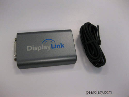 Review: Display Link USB 2.0 Lets You Share Monitors and Support a Resolution Up To 2048x1152
