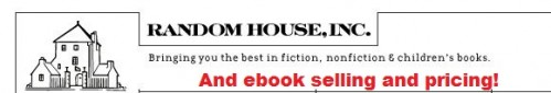 Random House Stands Alone With Amazon?