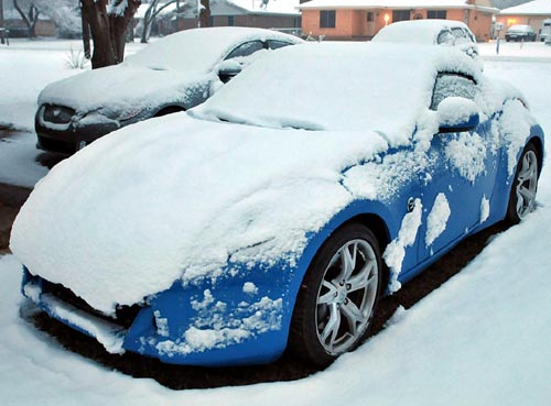 Snow Day with the Nissan Z Roadster