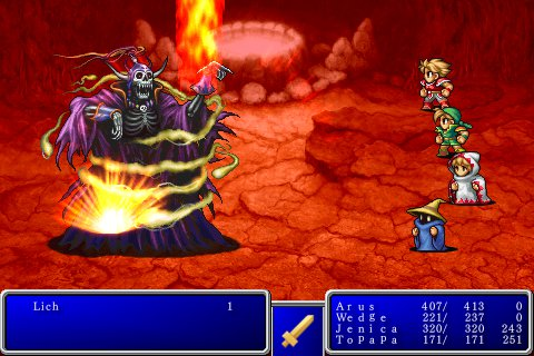 Final Fantasy iPhone Game Review