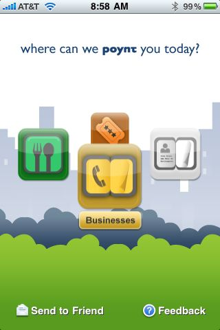 Poynt for iPhone OS Review