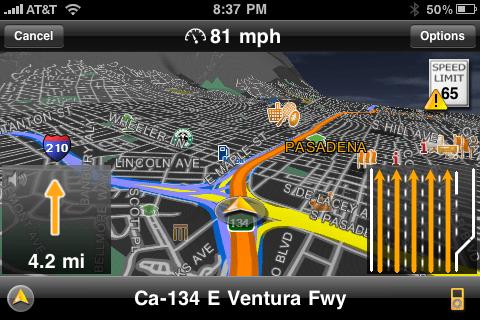 Navigon Pushes out MobileNavigator for iPhone version 1.50