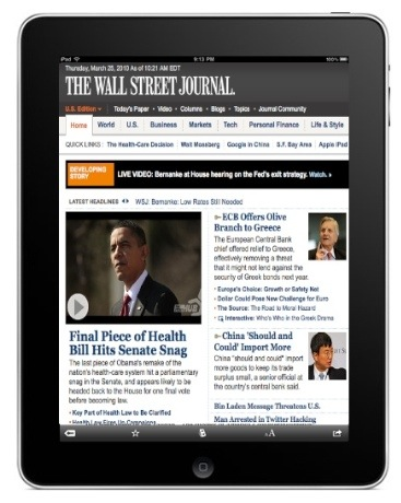 Will High News and Magazine Pricing Hurt iPad Adoption?