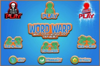 Word Warp Xtreme for iPhone/Touch App Review  Word Warp Xtreme for iPhone/Touch App Review