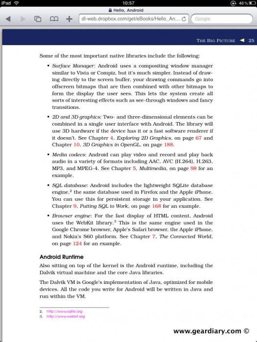GearDiary How To View PDF Files on iPad