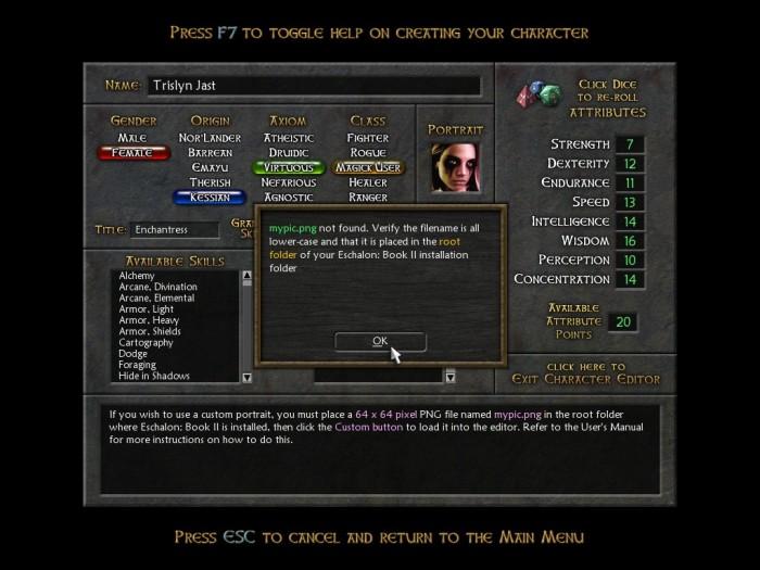 Eschalon Book 2 RPG First Impressions