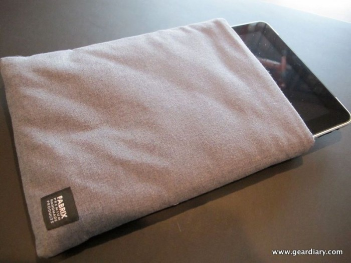 Review:  Fabrix Cases Magic Sleeve for iPad