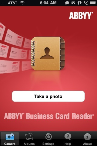 ABBYY Business Card Reader- iPhone App Review  ABBYY Business Card Reader- iPhone App Review