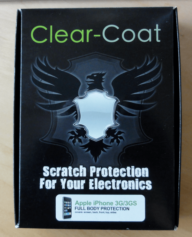 Clear-Coat Protects Your Gadgets