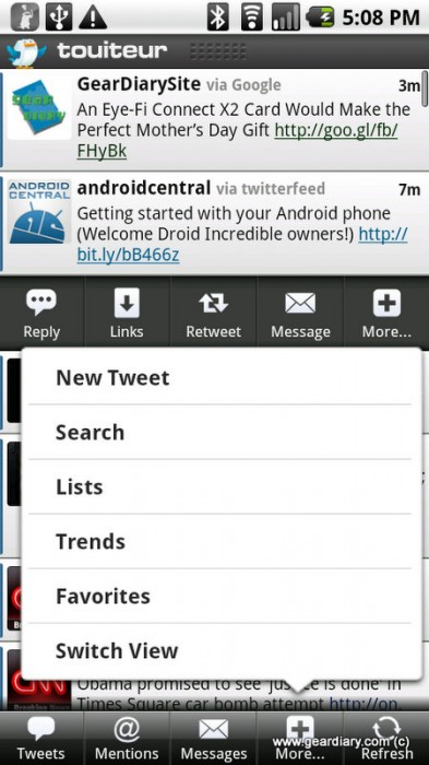Twitter for Android Review and Comparison