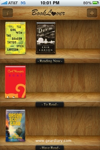 Electric Pocket's BookLover for iPhone Review