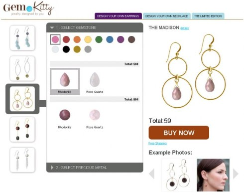 Design Custom Jewelry Online with GemKitty