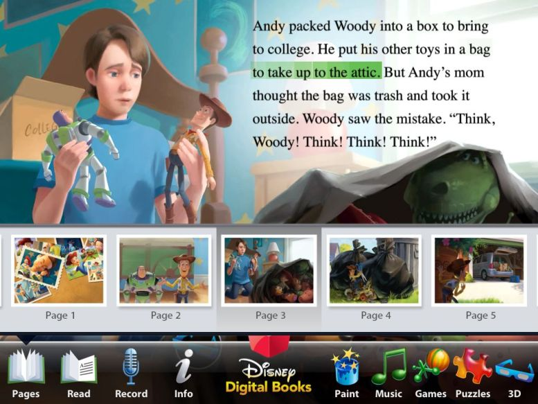 Read Along with Woody, Buzz and the Gang:  Toy Story 3 for iPad Review  Read Along with Woody, Buzz and the Gang:  Toy Story 3 for iPad Review  Read Along with Woody, Buzz and the Gang:  Toy Story 3 for iPad Review  Read Along with Woody, Buzz and the Gang:  Toy Story 3 for iPad Review  Read Along with Woody, Buzz and the Gang:  Toy Story 3 for iPad Review