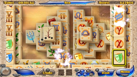 Mahjongg Artifacts, a PSP Mini Game Review  Mahjongg Artifacts, a PSP Mini Game Review