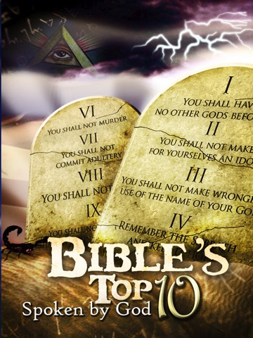 """iPad App- """"Bible's Top10 - 'Spoken by God'""""- When You Really Need to Get Your Fire and Brimstone On"""