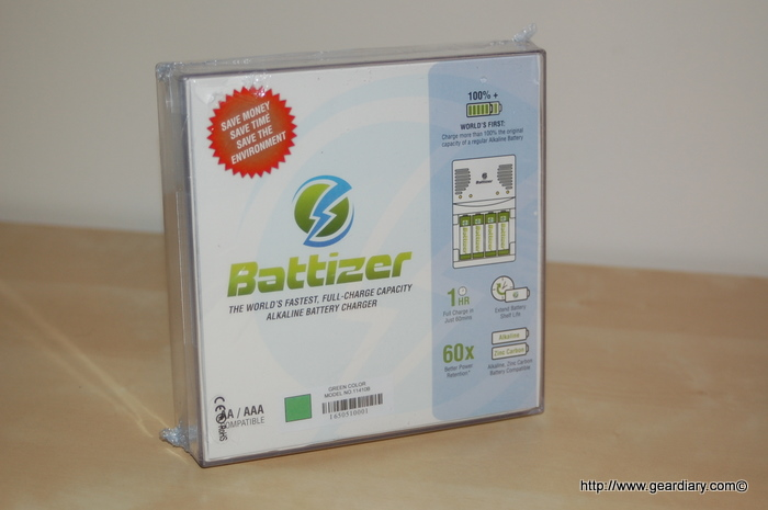 Battizer Review: Charges your Batteries and Helps Save the Planet