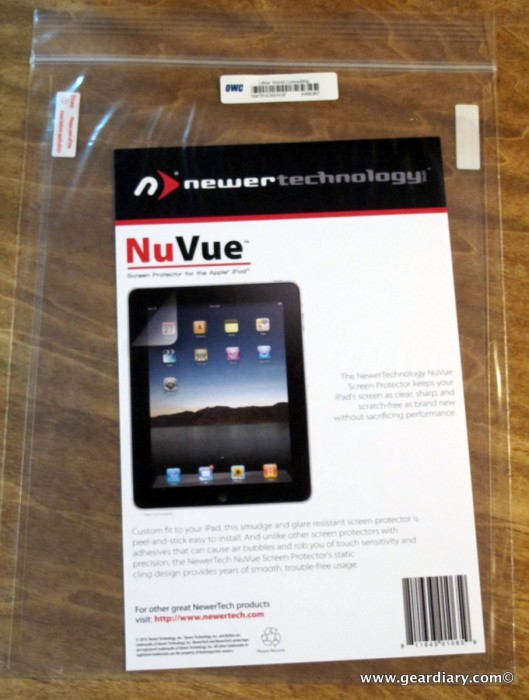 The NewerTechnology NuVue Clear and Privacy Shield iPad Screen Protectors Review  The NewerTechnology NuVue Clear and Privacy Shield iPad Screen Protectors Review