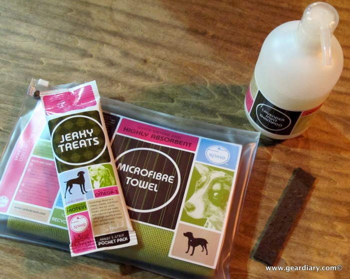 How Spike Brand's Doggy Style Shampoo, Microfibre Towel and Jerky Treats Saved the Day
