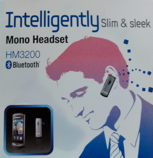 Samsung HM3200 Bluetooth Headset with Active Noise Cancellation and Multi-Point Technology - Review