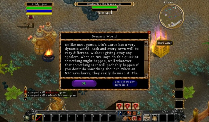 The Netbook Gamer: Din's Curse (PC/Mac RPG, 2010)  The Netbook Gamer: Din's Curse (PC/Mac RPG, 2010)  The Netbook Gamer: Din's Curse (PC/Mac RPG, 2010)  The Netbook Gamer: Din's Curse (PC/Mac RPG, 2010)