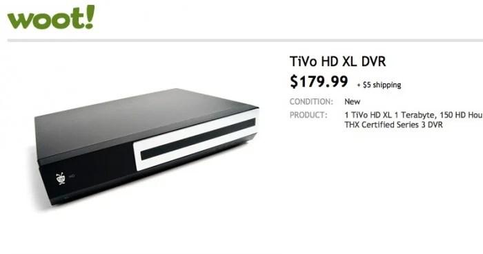 Woot- Sells TiVo HD, Takes Shot At Apple