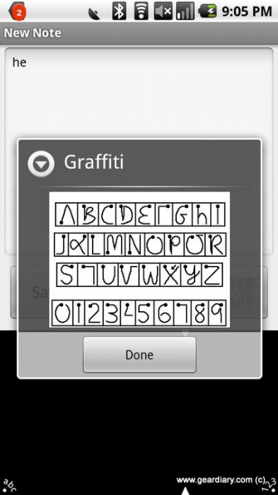 Graffiti for Android Gets Updated but Has a Bug